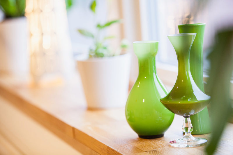 vaser-gröna