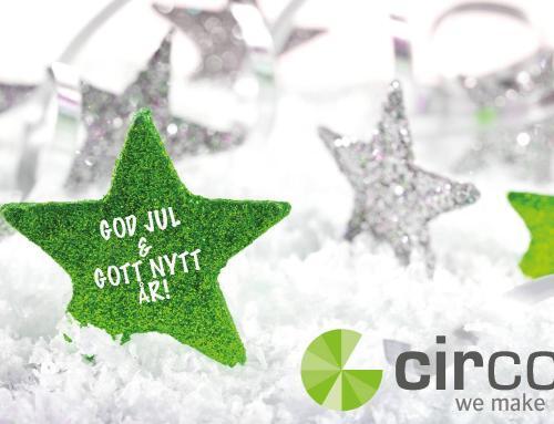 God jul från oss på Circom